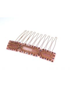 M.C. Davidian - Giselle Gold Hair Comb Gold