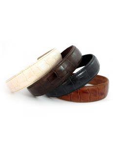Simple Læder Diadem - 3 cm