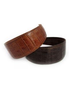 Læder Diadem - 5 cm